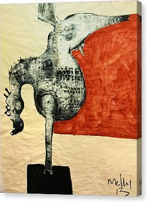Animalia  Equos No 5 Canvas Print by Mark M  Mellon