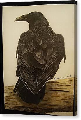 Animals Canvas Print by Per-erik Sjogren