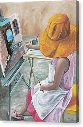 Annie Canvas Print by Darice Machel McGuire