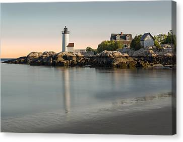 Annisquam Lighthouse Canvas Print by Susan Candelario