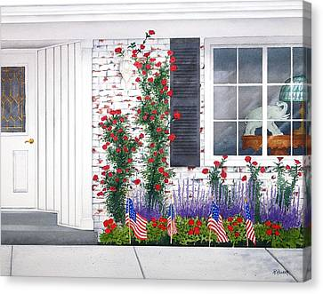 Anniversary Canvas Print by Richard Rooker