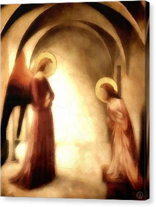 Annunciation Canvas Print by Gun Legler
