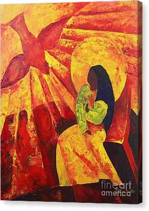 Annunciation Canvas Print by Patricia Brintle
