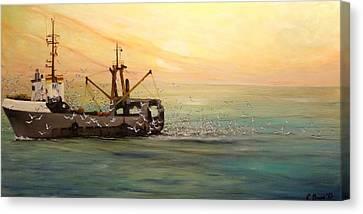 Another Day Canvas Print by Svetla Dimitrova