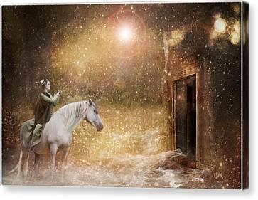 Another Door Opens Canvas Print by Pamela Hagedoorn