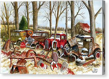 Another Mans Treasure Canvas Print by Larry Johnson