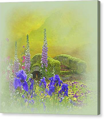 Another Mythical Landscape Canvas Print by Jeff Burgess