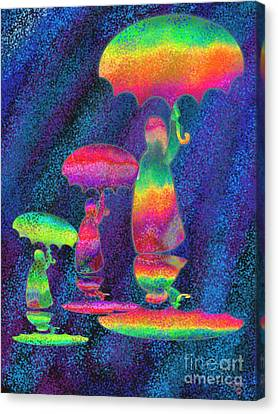 Another Rainy Day 2 Canvas Print by Nick Gustafson
