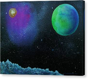 Another World - Sold Canvas Print by Lou Cicardo