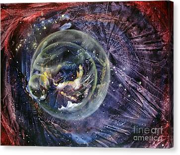 Another World5 Canvas Print by Valia US