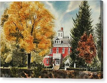 Antebellum Autumn Ironton Missouri Canvas Print by Kip DeVore