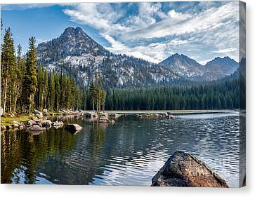 Anthony Lake Canvas Print by Robert Bales