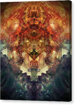 Anthropic Explorations Canvas Print by Nathan Benmargi