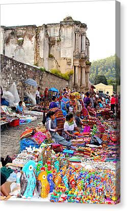 Antigua Guatemala Canvas Print by Carey Chen