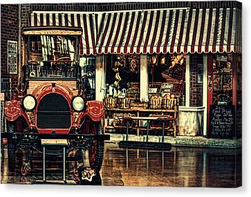 Antique Grocery Store  Canvas Print by Maria Angelica Maira