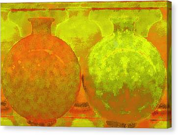 Antique Vases Canvas Print by Ben and Raisa Gertsberg