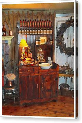 Antiques And Fragrances Canvas Print by Glenn McCarthy Art and Photography