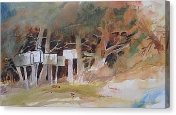 Any Mail Today? Canvas Print by John  Svenson