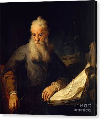 Apostle Paul Canvas Print by Rembrandt