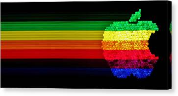 Apple Computer Inc Canvas Print by Benjamin Yeager