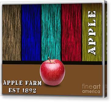 Apple Canvas Print by Marvin Blaine