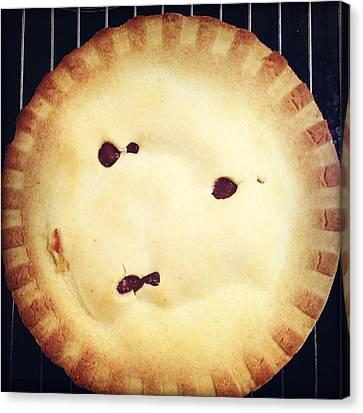 Apple Pie Canvas Print by Les Cunliffe