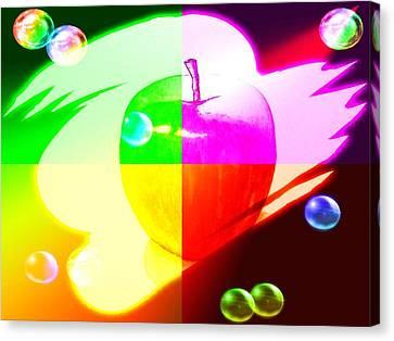 Apple3 Canvas Print by Kenneth A Mc Williams
