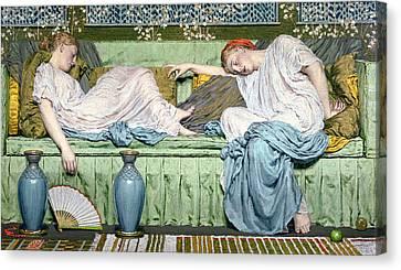 Apples Canvas Print by Albert Joseph Moore