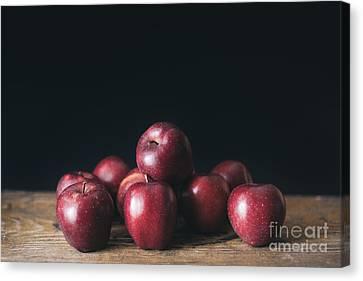 Apples Canvas Print by Viktor Pravdica