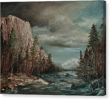 Approaching Storm Canvas Print by Liz Hume
