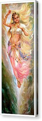 Apsara Canvas Print by Mayur Sharma