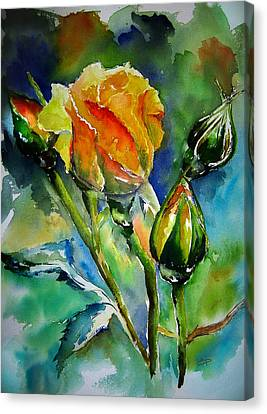 Aquarelle Canvas Print by Elise Palmigiani