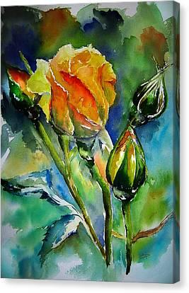 Aquarelle Canvas Print by Elise Palmigiani