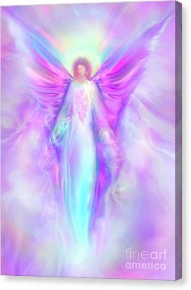 Archangel Raphael Canvas Print by Glenyss Bourne