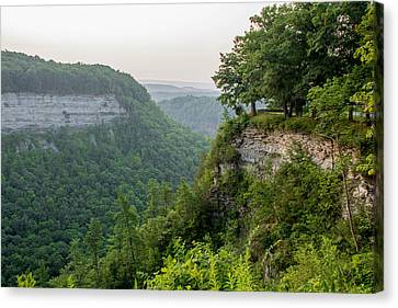 Archery Field Overlook Canvas Print by Guy Whiteley