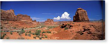 Arches National Park, Moab, Utah, Usa Canvas Print by Panoramic Images