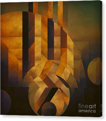 Architectonic Exclusion Canvas Print by Lonnie Christopher