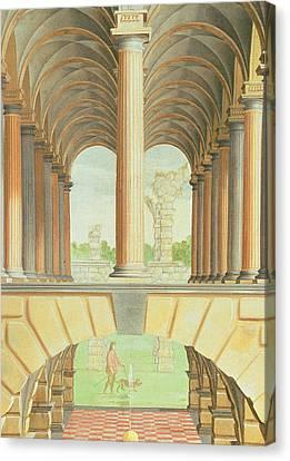 Architectural Capriccio Canvas Print by Jacobus Saeys