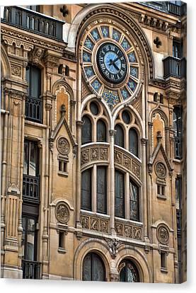 Architecture In Paris Canvas Print by Paris  France