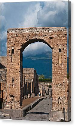 Archway Canvas Print by Marion Galt