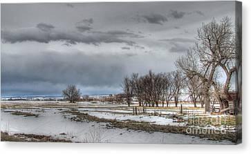 Canvas Print featuring the photograph Ardmore Prairie by Bill Gabbert