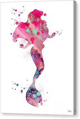 Ariel Canvas Print by Luke and Slavi