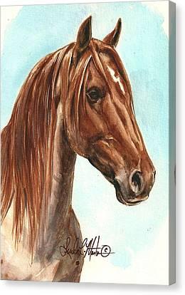 Aries  Canvas Print by Linda L Martin