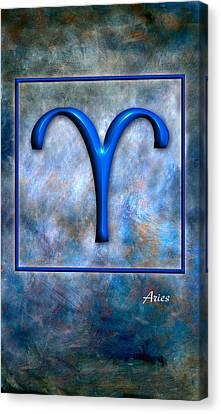 Aries  Canvas Print by Mauro Celotti
