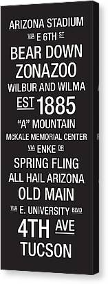 Arizona College Town Wall Art Canvas Print by Replay Photos