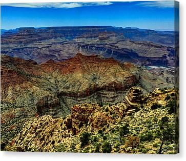 Arizona - Grand Canyon 002 Canvas Print by Lance Vaughn