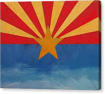 Arizona Canvas Print by Michael Creese