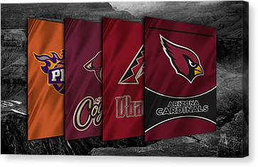 Arizona Sports Teams Canvas Print by Joe Hamilton