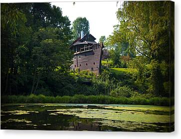 Ark House - Berks County Pa. Canvas Print by Bill Cannon