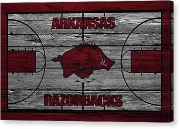 Arkansas Razorbacks Canvas Print by Joe Hamilton